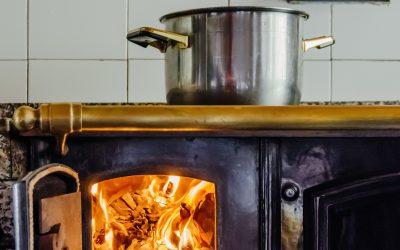 Inside the pressure cooker